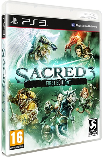 Deep Silver Sacred 3 First Edition PS3 | Dodax.co.uk