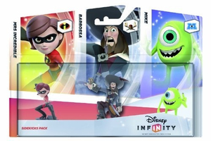 Disney - Disney Infinity Sidekicks Three-Pack: Mrs Incredible, Barbossa and Mike Collectible Figures (1566528043) | Dodax.ch
