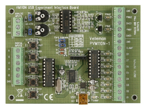 Velleman VM110N USB Exp. Interface Board | Dodax.ch