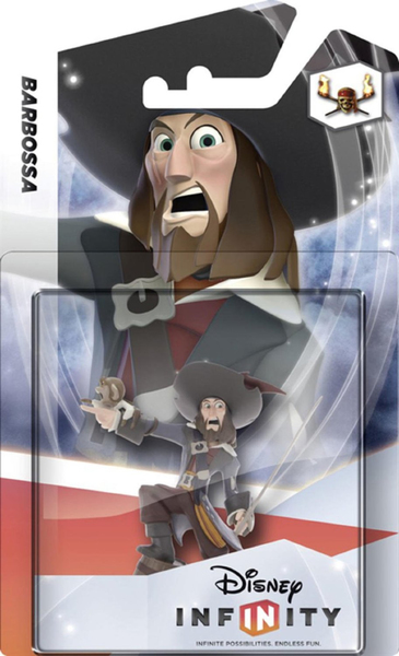 Disney - Disney Infinity Barbossa Collectible Figure (IQAV000008) | Dodax.co.uk