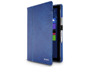 Maroo - Leather Folio for Surface Pro 3, Cobalt Blue (MR-MS3304)   Dodax.ch