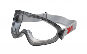 3M - Protection Mask, Transparent Lenses, Grey (2890SC) | Dodax.ch