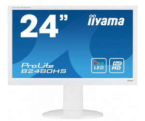 "iiyama ProLite B2480HS-W2 23.6"" Full HD TN White LED display 