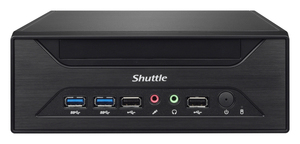 Shuttle Barebone XH81, schwarz, S. 1150 | Dodax.at