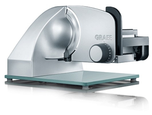 Graef - Electric Slicer, 230 V, Black/Silver (Master M 20) | Dodax.ch