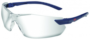 3M - Safety Glasses, Plastic, Blue/Transparent (2820C) | Dodax.de
