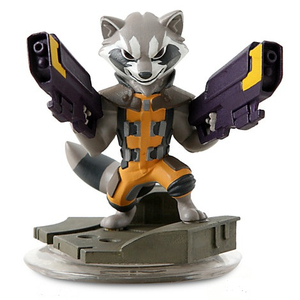 Disney - Disney Infinity 2.0 Rocket Racoon Collectible Figure (IQAV000064) | Dodax.co.uk