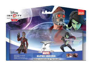 Disney - Disney Infinity 2.0 Marvel's Guardians of the Galaxy Play Set with Star-Lord and Gamora Collectible Figures (IQAY000008) | Dodax.fr