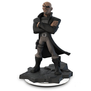 Disney - Disney Infinity 2.0 Nick Fury Collectible Figure (IQAV000063) | Dodax.co.uk