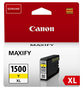 Tinte Canon PGI-1500Y XL yellow, 12ml | Dodax.at