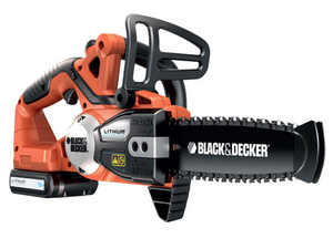 Black & Decker - Cordless Chainsaw, 18 V, 2 Ah (GKC1820L20) | Dodax.ch