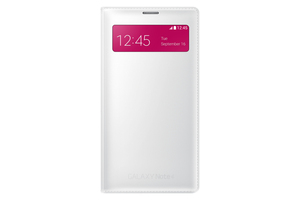Samsung - Case for Galaxy Note 4, White (EF-EN910FTEGWW) | Dodax.de