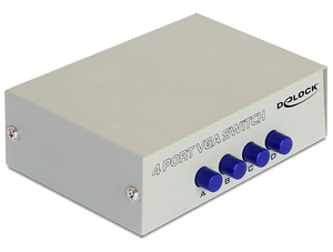Delock 4Port VGA Switchbox | Dodax.at