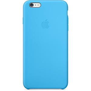 Apple - Silicone Case for iPhone 6/6s Plus, Blue (MGRH2ZM/A)   Dodax.ch