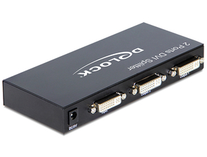 Monitorsplitter DVI-I zu 2x DVI(24+5pin) | Dodax.at