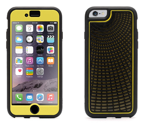 Griffin - Identity Performance Radiant Case for iPhone 6/6s, Yellow/Black (GB40503) | Dodax.at