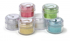 Silhouette - Hobby Paint Essential Colours, 6 pcs (GLITTER-1) | Dodax.co.uk