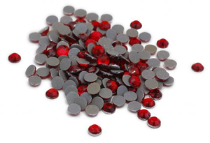 Silhouette - 20ss Rhinestones, approx. 200 pcs (SILH-RHINE-RED20) | Dodax.fr