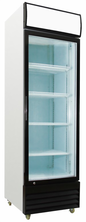 Kibernetik - Freestanding drinks cooler 2.2 kWh/24h White Right (KS360M) | Dodax.ch