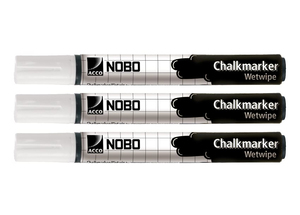 Nobo Boardmarker weiss, 3er Pack | Dodax.co.jp