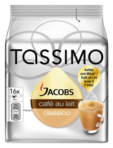 Tassimo T DISC Jacobs Café au lait | Dodax.at