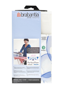 Brabantia - Ironing Board Cover, Cotton, Size D, Blue (101465) | Dodax.ch