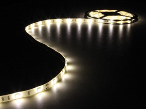 Velleman - Flexible LED-Leiste, Warmweiß, 150 LEDs, 5 m, 12 V (LB12M210WW) | Dodax.ch