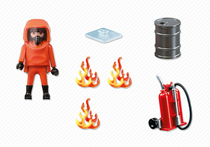 Playmobil City Action Special Forces Firefighter | Dodax.nl