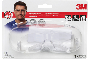 3M - Safety Glasses, Transparent Lenses (VAPCC) | Dodax.es
