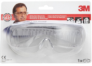 3M - Safety Glasses, Transparent Lenses (VISITOR) | Dodax.es