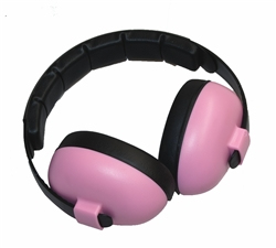 Baby Banz - Ear Defender, Signal-to-Noise Ratio: 26 dB, Pink (GBB003) | Dodax.ch