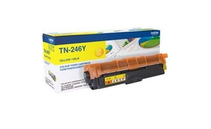 Brother TN-246Y 2200pages Jaune cartouche toner et laser | Dodax.fr