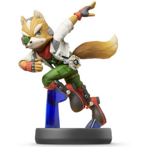 Nintendo - amiibo Fox No.6 Collectible Figure (1066966) | Dodax.co.uk