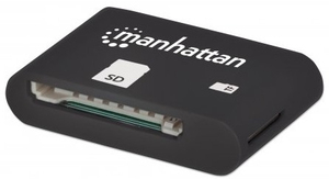 Manhattan 406208 USB 2.0 Schwarz Kartenleser | Dodax.at