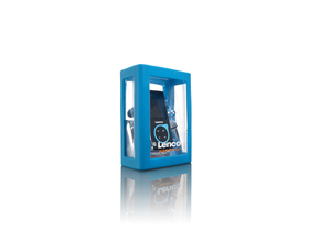 Lenco Xemio-767, MP3 Player, 8GB, blau | Dodax.ch