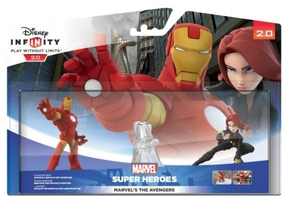 Disney - Disney Infinity 2.0 Marvel Super Heroes Avengers Play Set with Iron Man and Black Widow Collectible Figures (1063011) | Dodax.co.uk