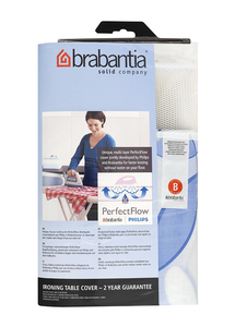 Brabantia - Ironing Board Cover, Cotton, Size B, Blue (101106) | Dodax.ch