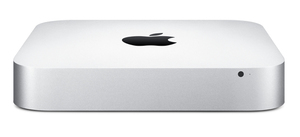 Apple - Mac Mini Dual-core Intel Core i5-4260U, 1.4GHz, White (MGEM2D/A) | Dodax.at