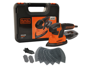 Black & Decker - Power Sander, 120 W, 230 V (KA2500K) | Dodax.ch