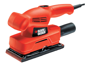 Black & Decker - Power Sander, 135 W, 230 V (KA300) | Dodax.ch