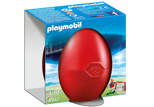 Playmobil Eggs Soccer Player with Goal | Dodax.ch
