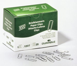 Durable 1207-25 paperclip | Dodax.nl