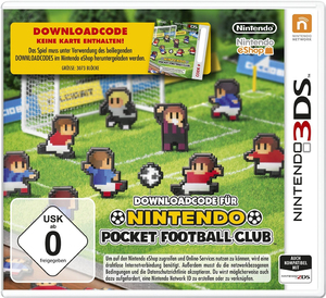 Pocket Football, Download-Code für Nintendo 3DS-Spiel | Dodax.ch