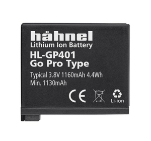 Hahnel DC BATTERY GOPRO HL-GP401 (1000 166.1)