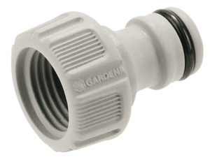 "GARDENA Hahnverbinder 21mm (G 1/2"") 