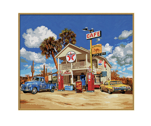 Old American Gasstation | Dodax.at