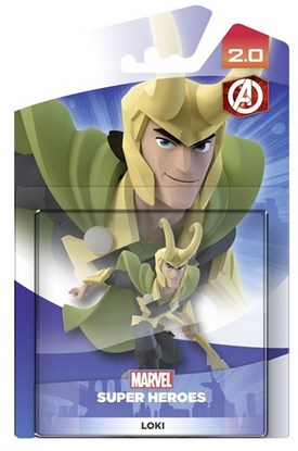 Disney - Disney Infinity 2.0 Loki Collectible Figure (1064427) | Dodax.fr