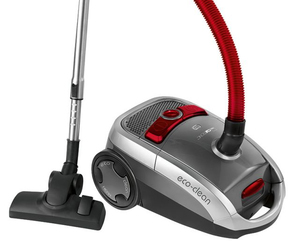 Clatronic BS 1288 Cylinder vacuum cleaner 800W A Grau, Rot, Silber | Dodax.at