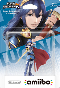 Nintendo - amiibo Lucina No.31 Collectible Figure (1070566) | Dodax.com