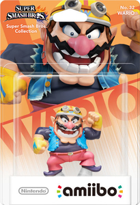 Nintendo - amiibo Wario No.32 Collectible Figure (1070666) | Dodax.nl